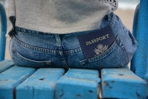Passport in pocket