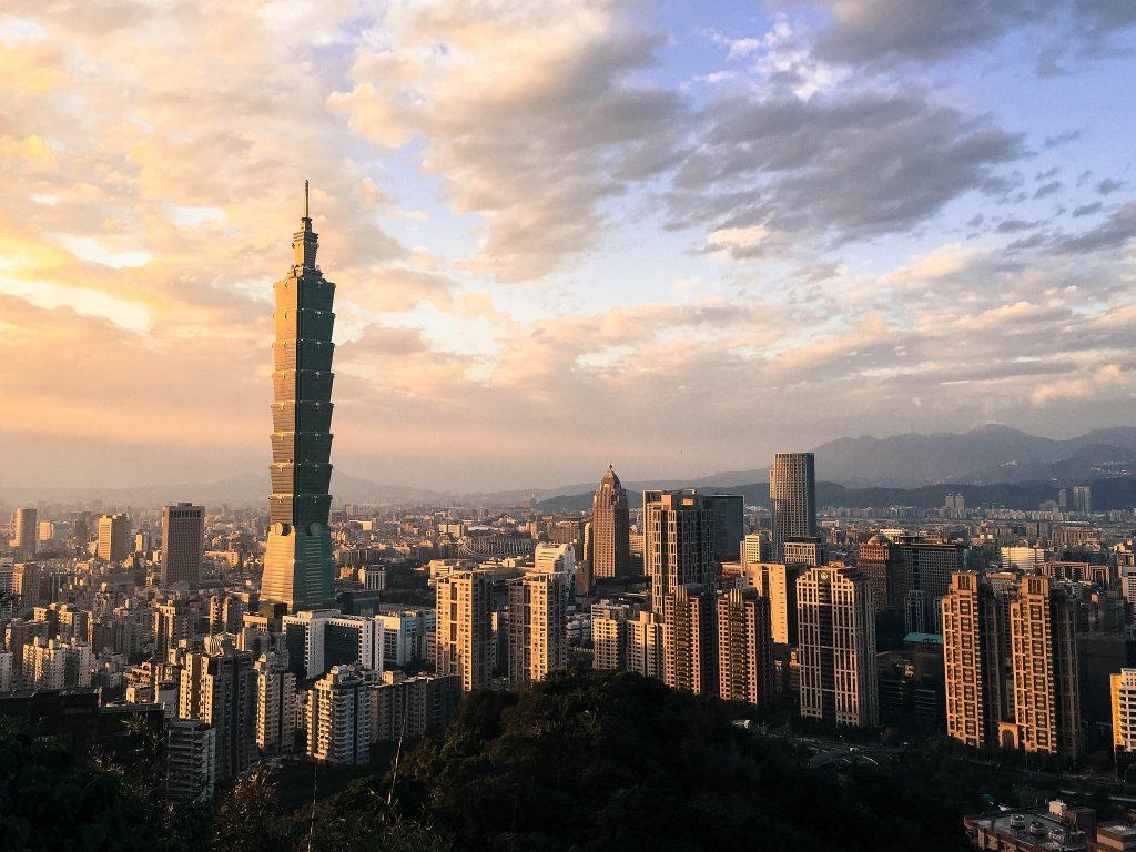 Skyscraper, city view