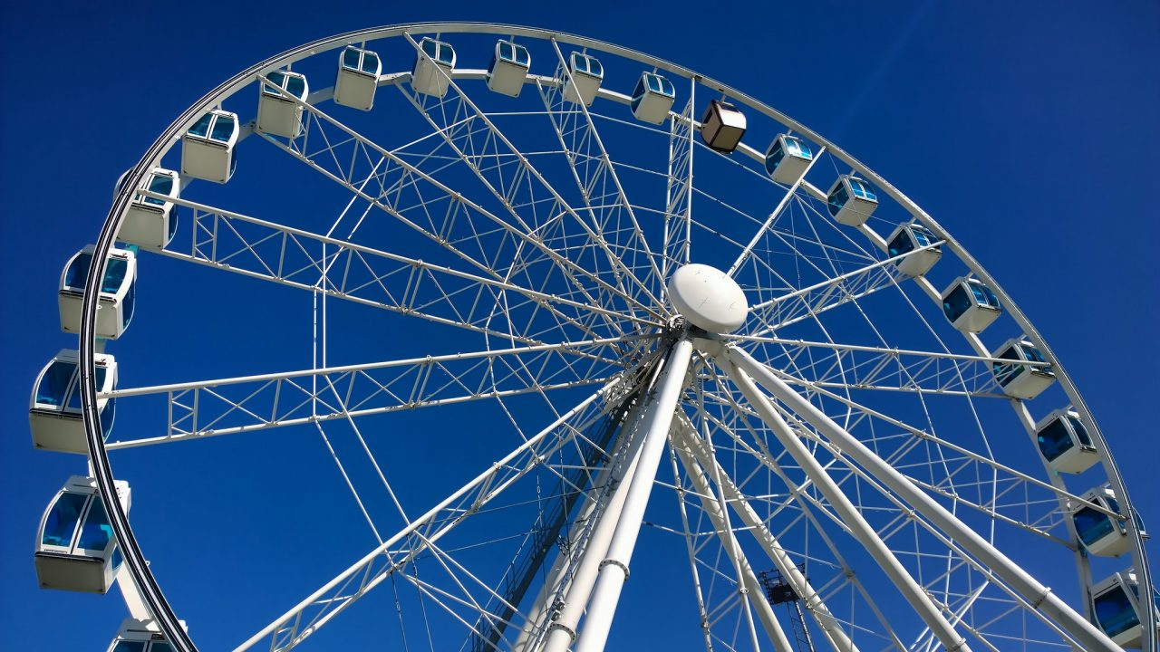 SkyWheel in Helsinki Finland