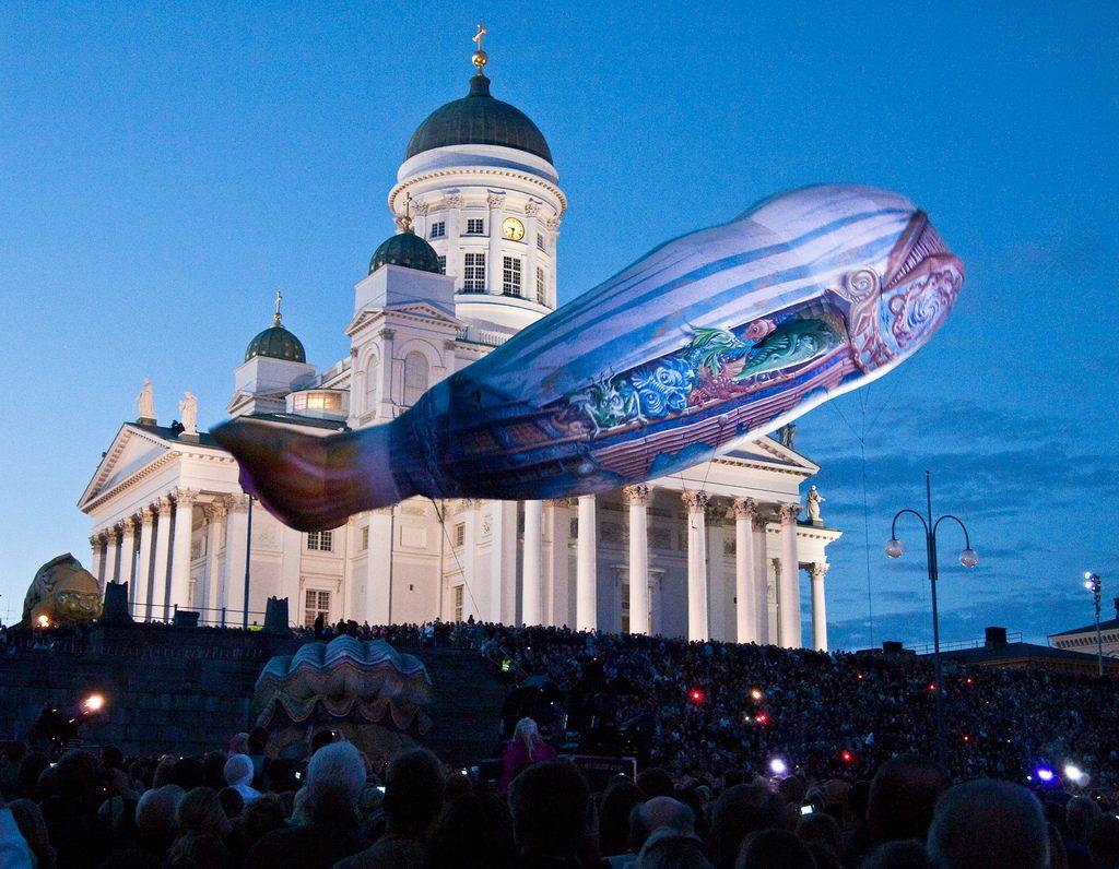 Night of the Arts Helsinki Finland