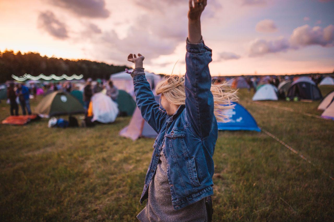 lady dancing in a festival