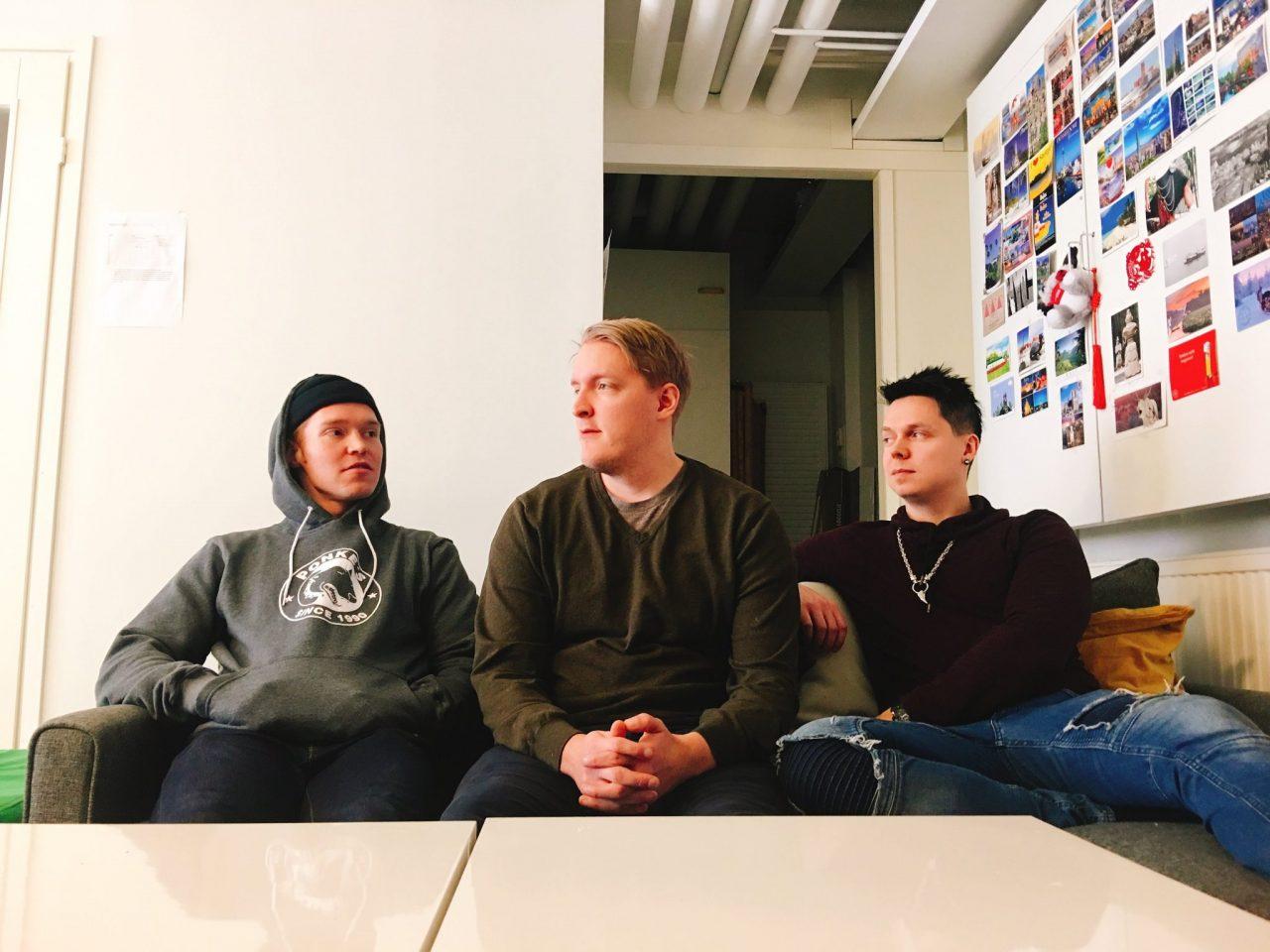 Vilppu, Ville and Sami