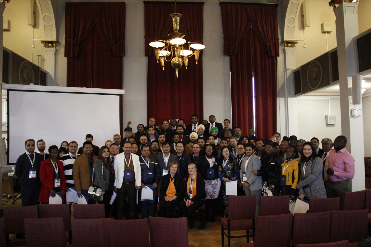 UES participants standing for a group photo in Helsinki, Finland