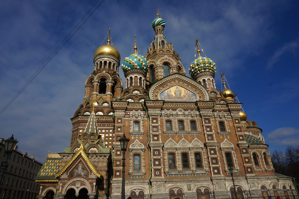 countries to visit Church of the Savior on Spilled Blood