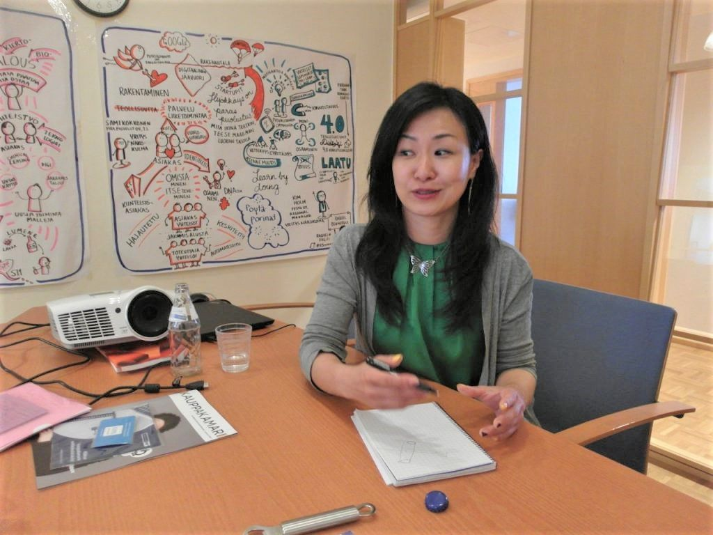 Korean Student in Finland: Flexible, Impressive and Highly Efficient