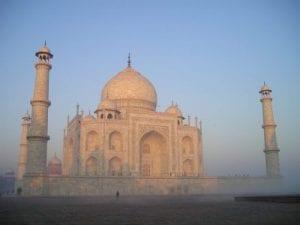 Taj Mahal India Ivory White Marble