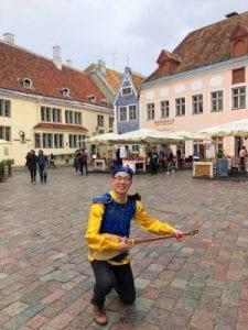 Kazakhstan student in Finland