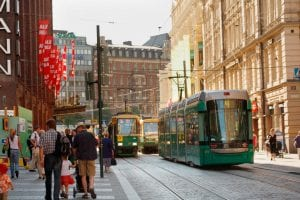 Helsinki public transportation