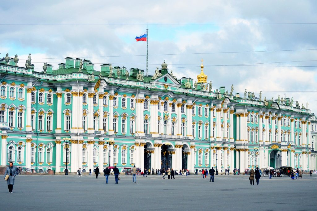 countries to visit Russia's The Hermitage Museum