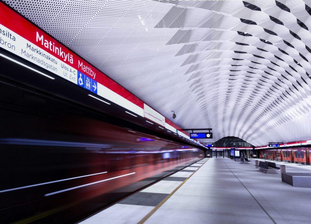 Metro on the underground