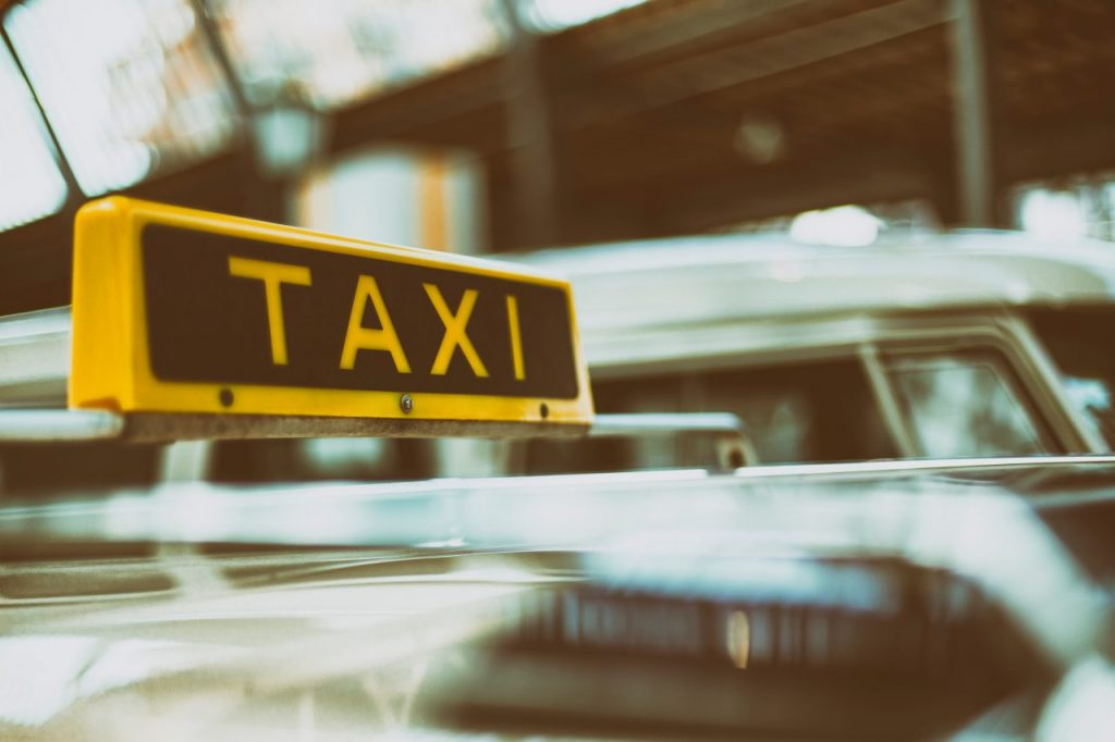 Taxis around Helsinki city are available