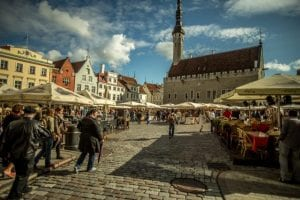 tallinn city in estonia