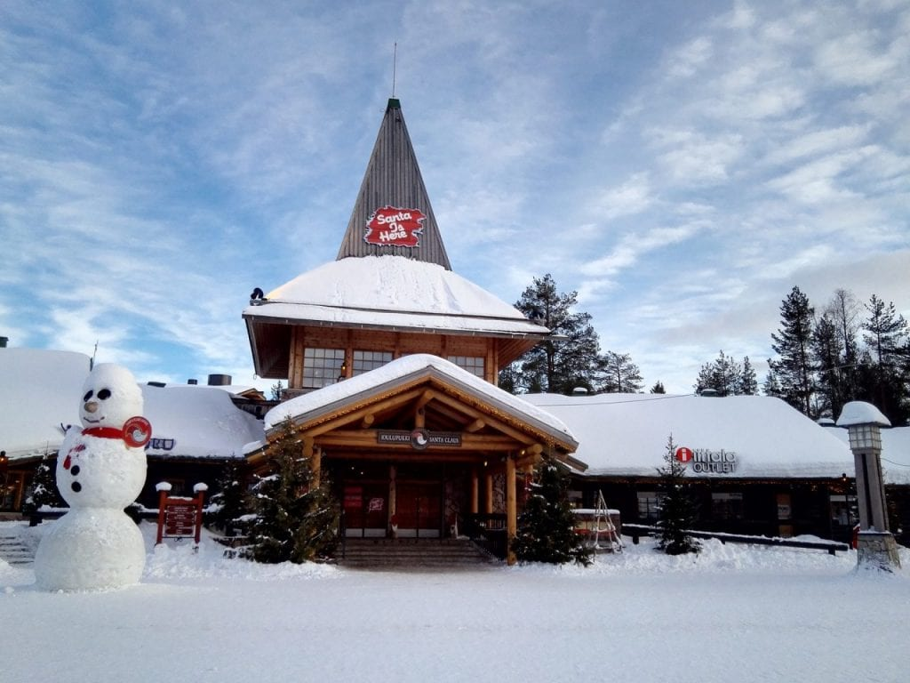Santa official office Rovaniemi Finland