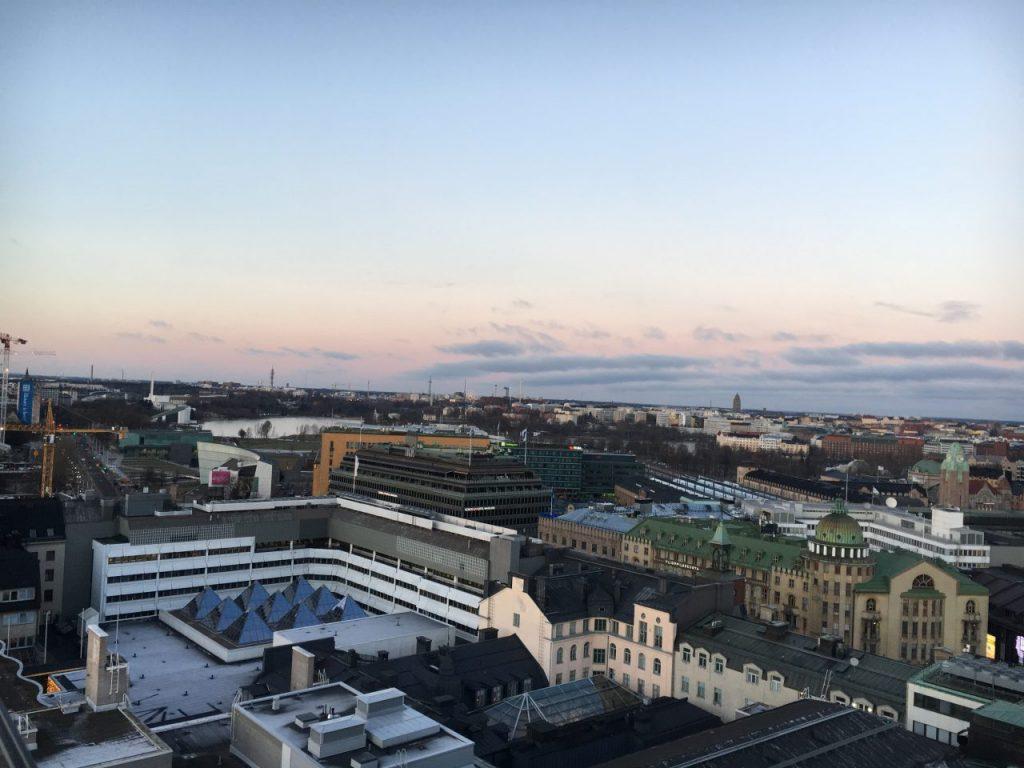 A view of Helsinki