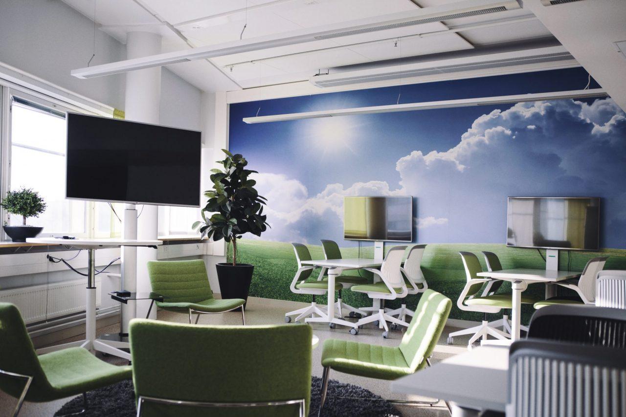Arcada University lounge room