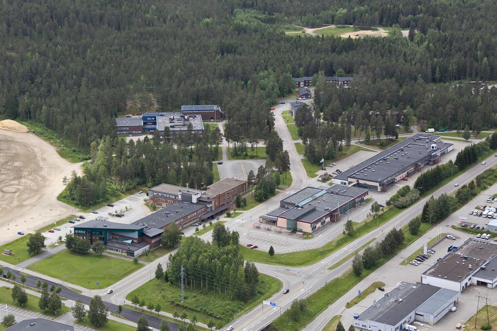 Kajaani University of Applied Sciences campus