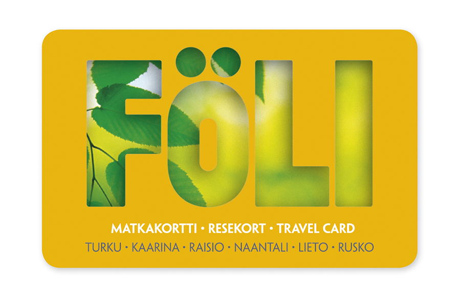 Arrival in finland Travel card