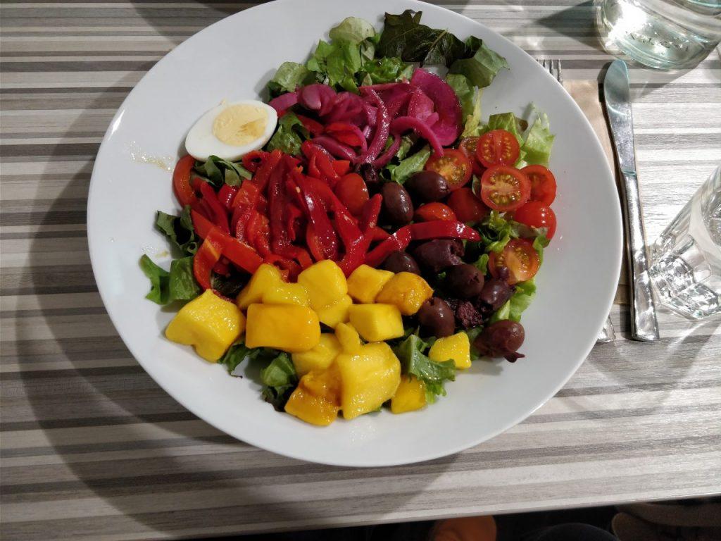 healthy salad in Helsinki