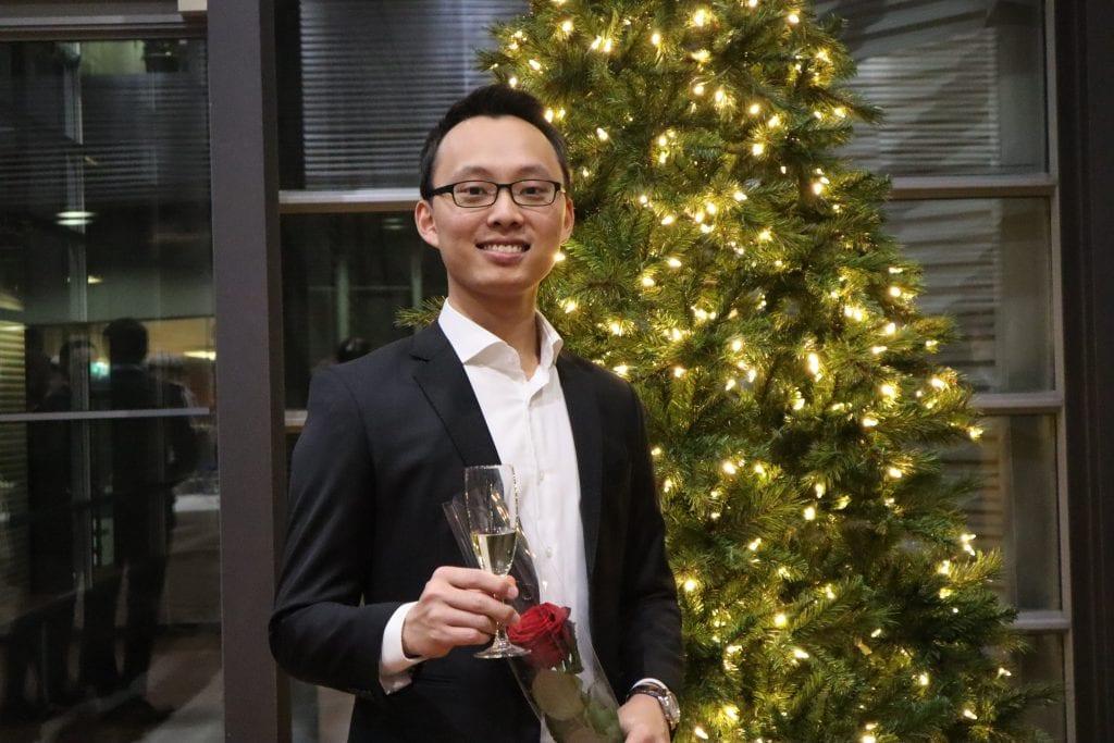 Long Tran, Vietnamese student at HAMK