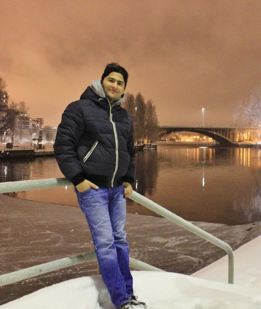 Pakistani student abroad