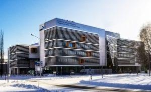 SAMK campus in Pori by Veera Korhonen