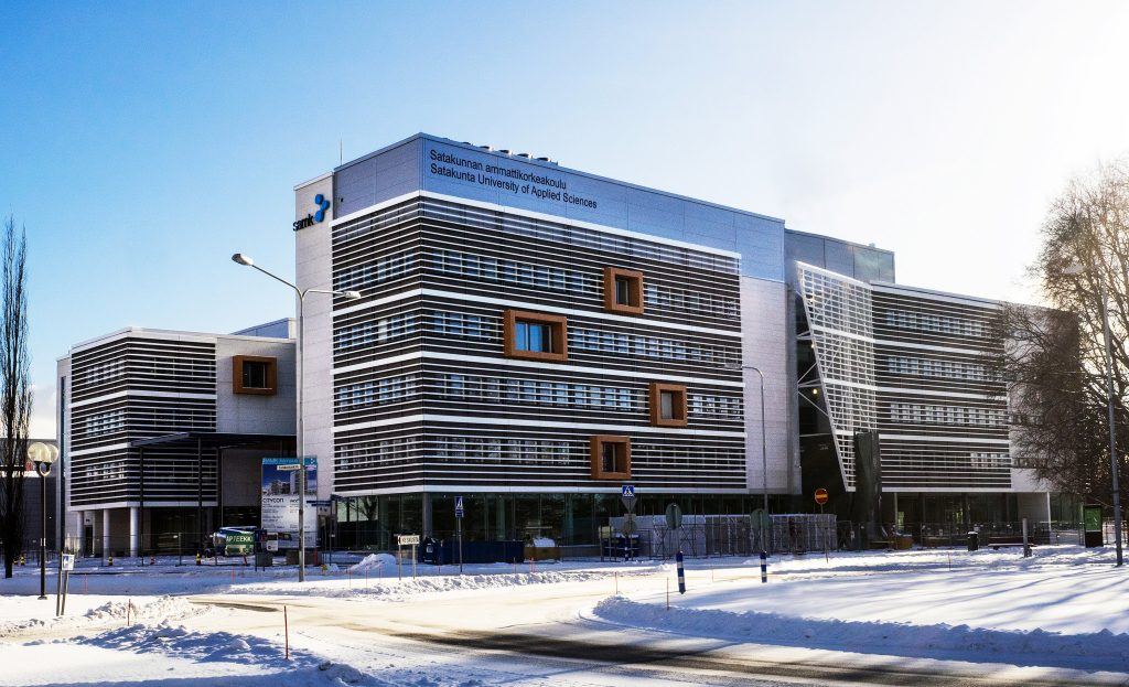 SAMK new campus in Pori, Finland