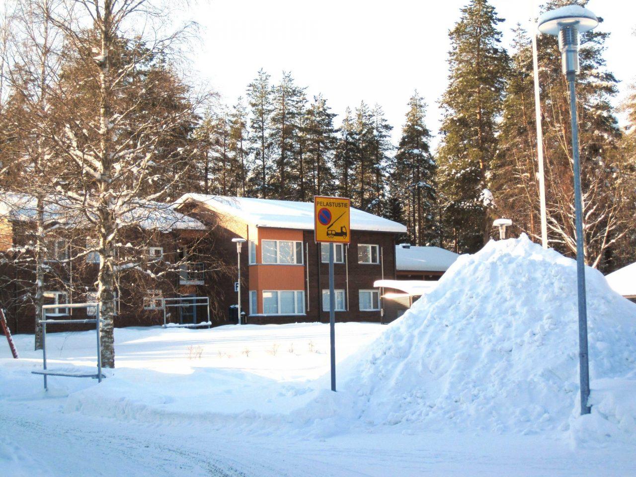 Winter snow Finland