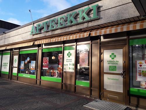 pharmacy or apteekki