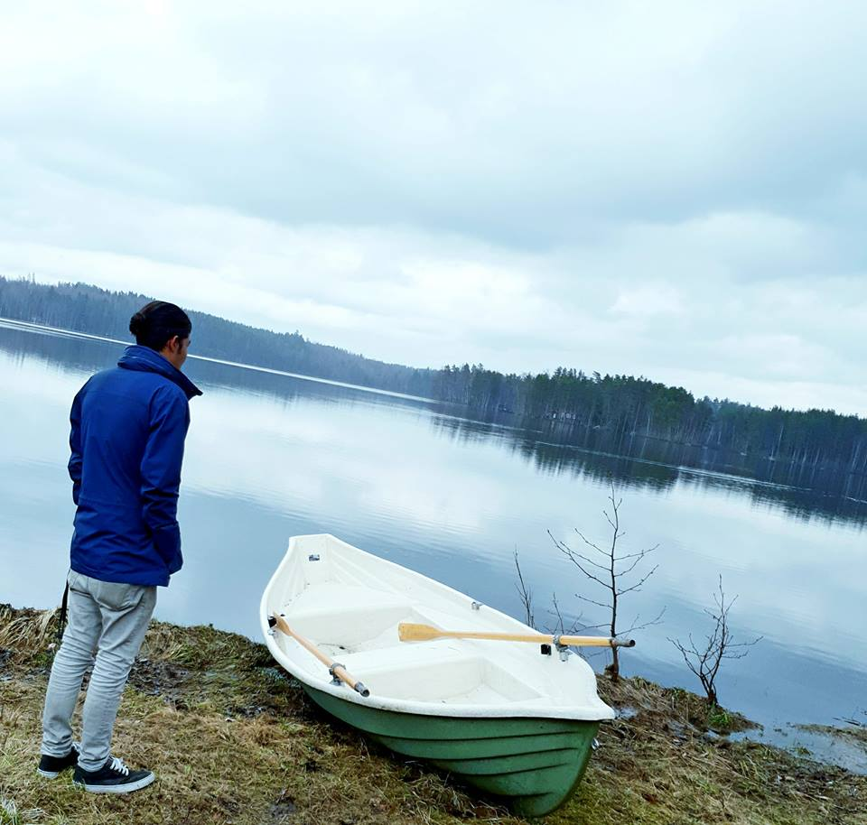 Nepalese student in Finland. travelling