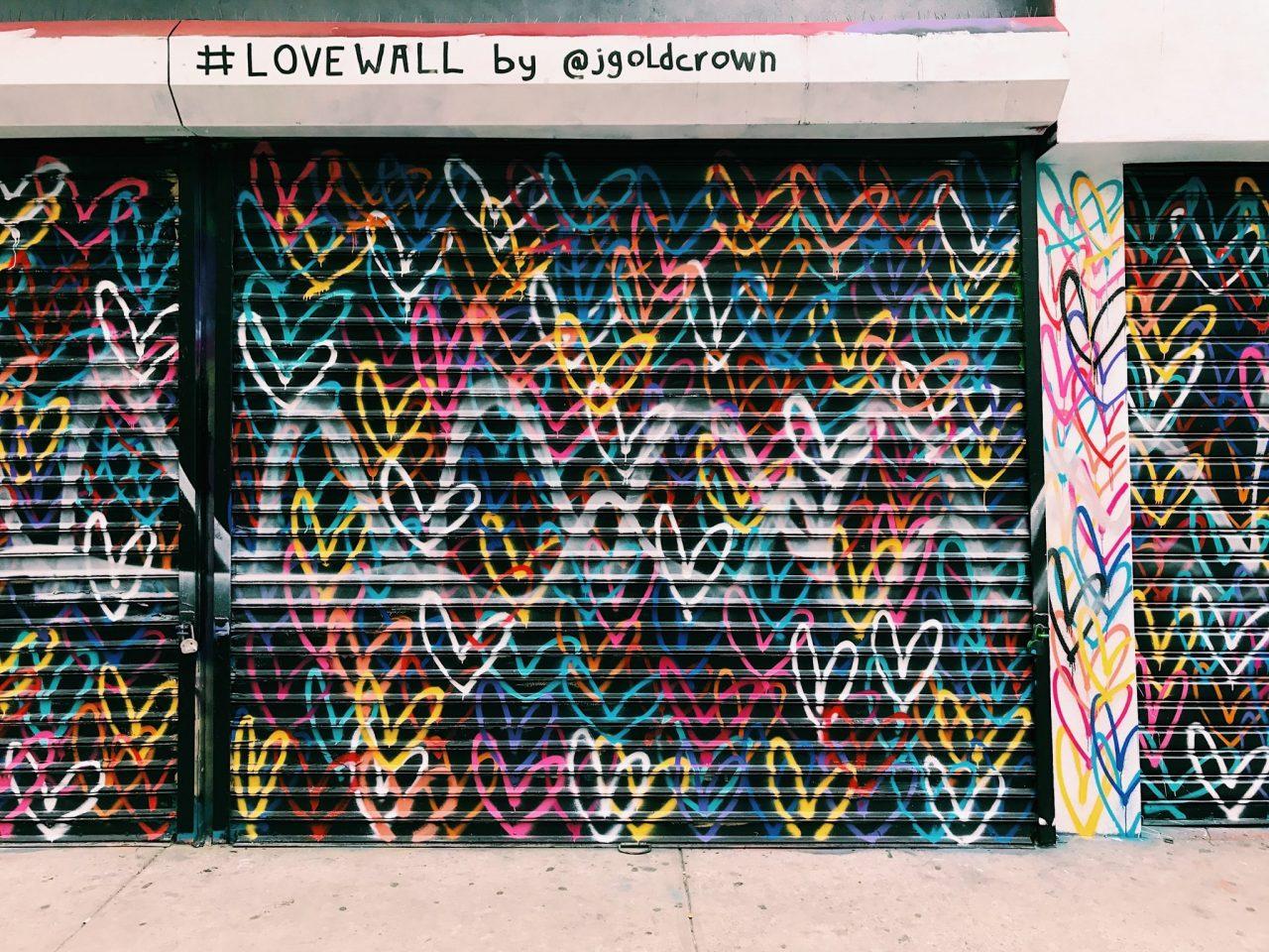 Love wall in Australia