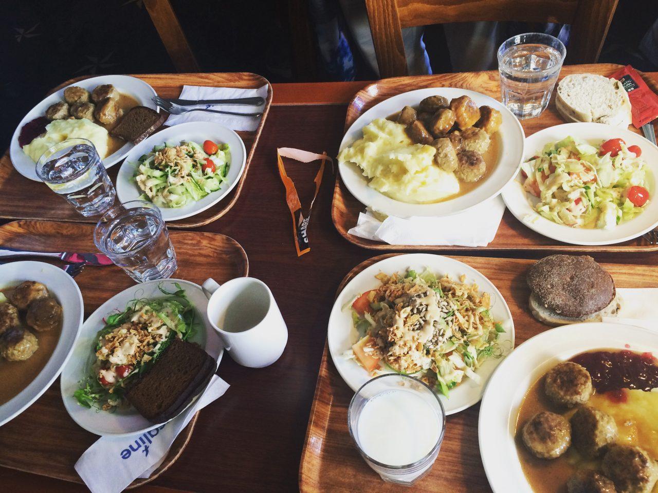 Finnish University lunch