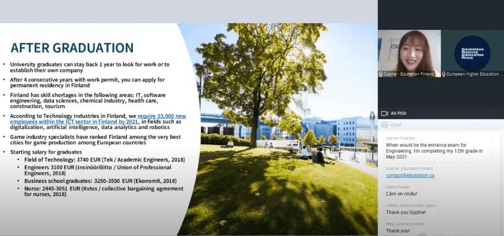 European Higher Education Fair 2020 Online