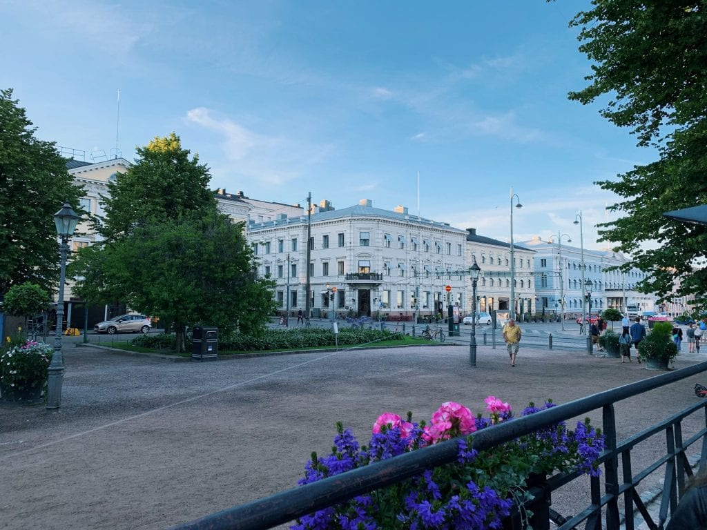 City view in Finland