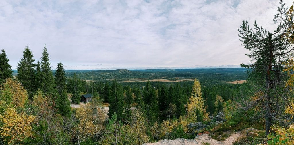 Views from on top of a mountain