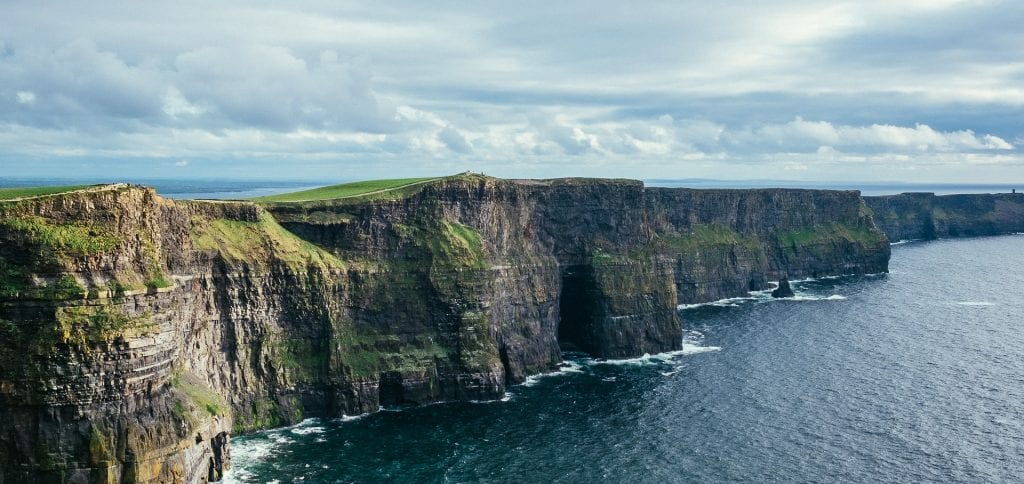 one of the most beautiful places in Ireland is considered to be the cliffs of moher