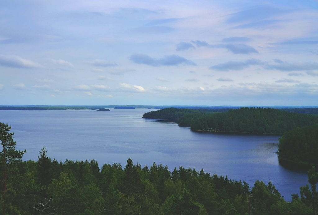 Nature in Finland is very beautiful