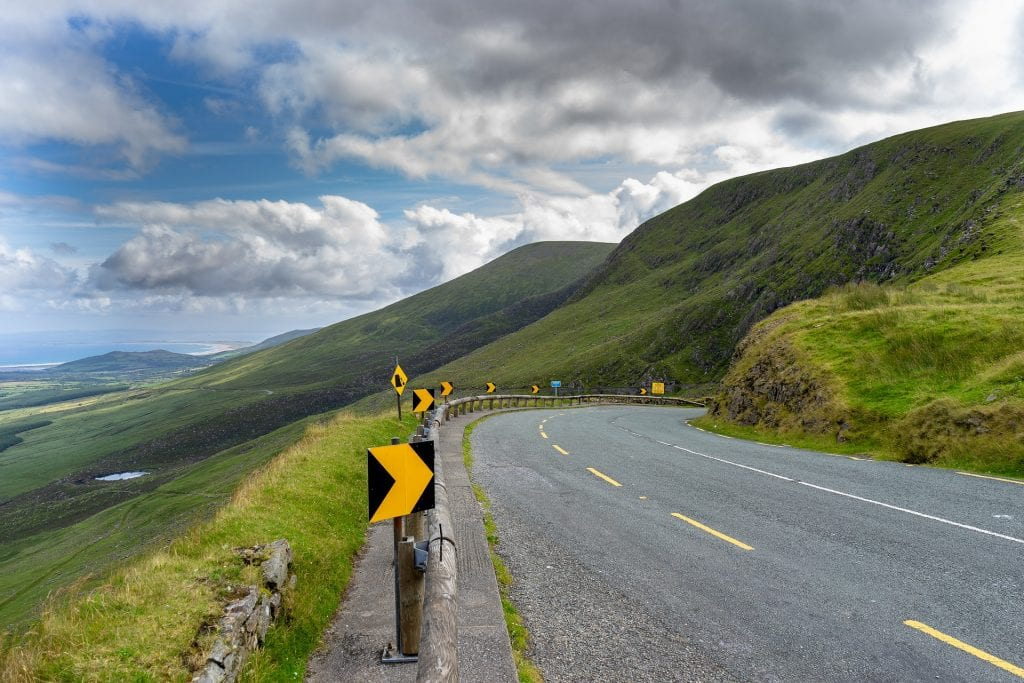 Ireland is great for having road trips