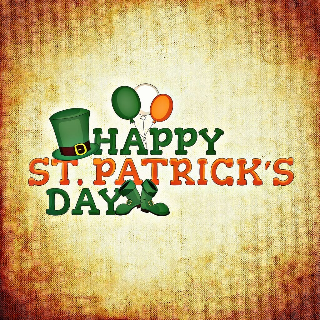 St. Patrick's Day is a famous Irish festival