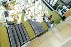 LAB University stairs in Finland