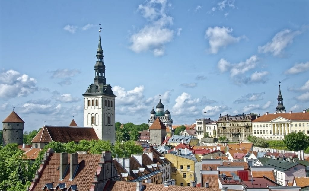 The Old Town in Tallinn is a must place to visit!