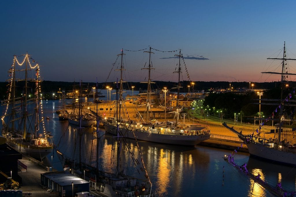 You will get close to the ocean in Turku!
